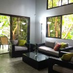 Livingroom in private house in hotel for sale in Montezuma
