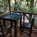 Outside veranda in Montezuma Hostel for sale