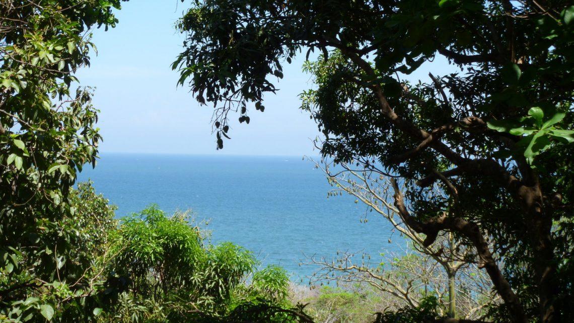 Ocean view in Montezuma Hostel for sale