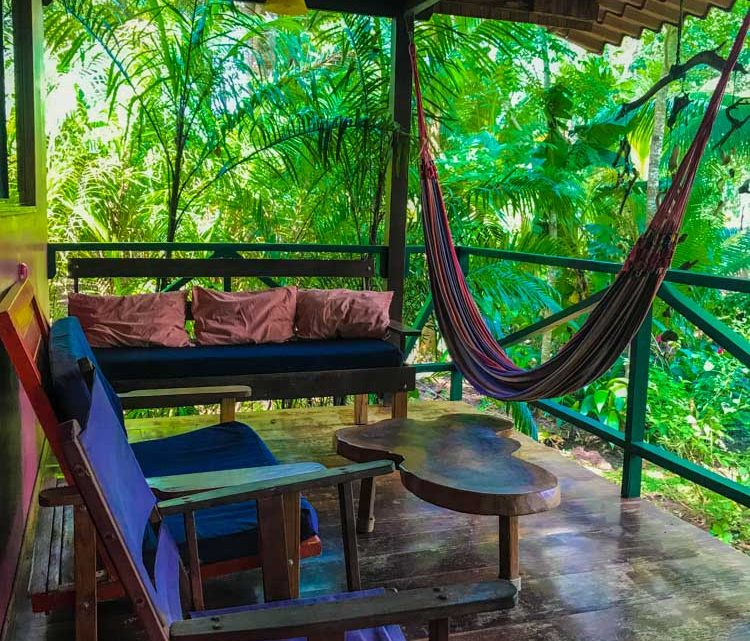 Relax in the tropical veranda surrounded by nature and monkeys in Montezuma Costa rica