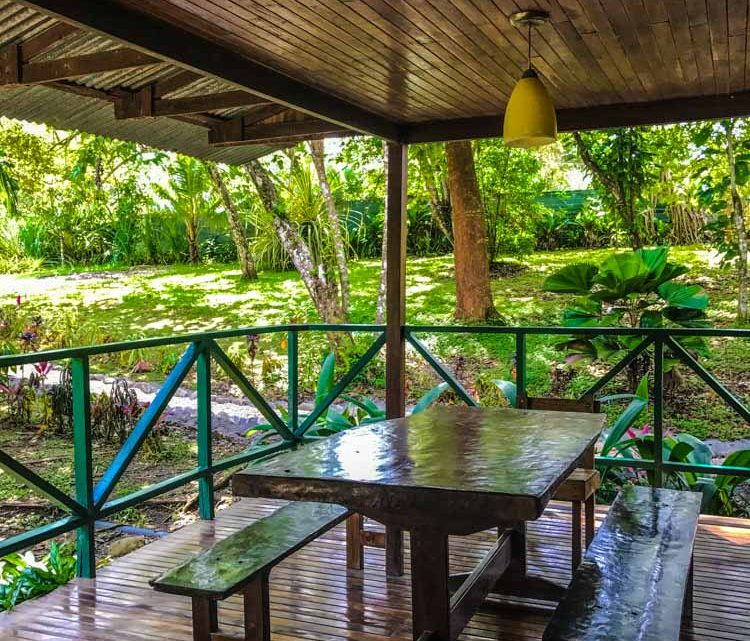 Tropical veranda in Hotel for sale in Montezuma