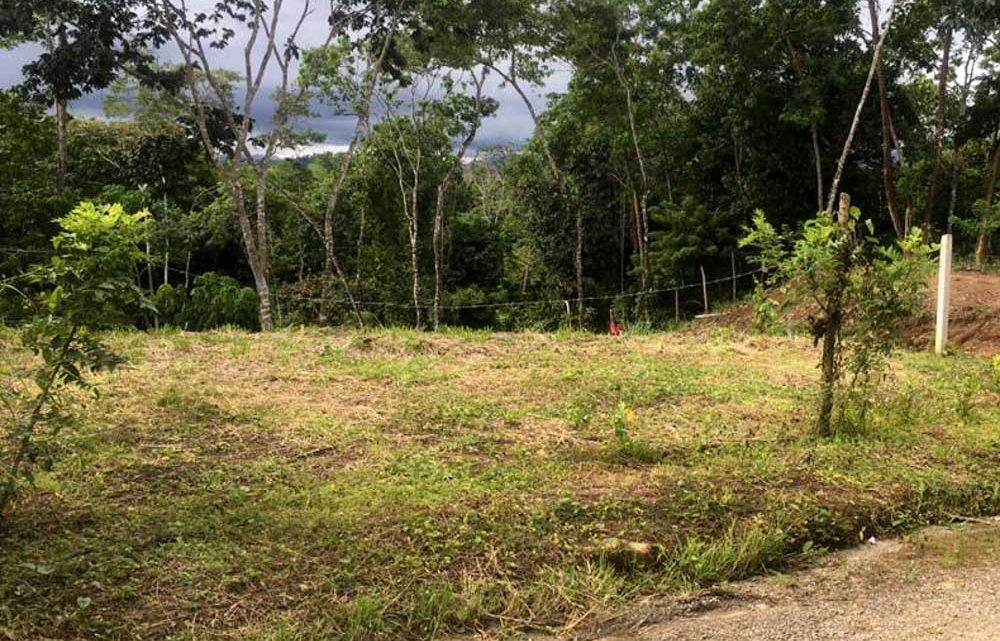 Public road access to mountain view lot for sale in Montezuma