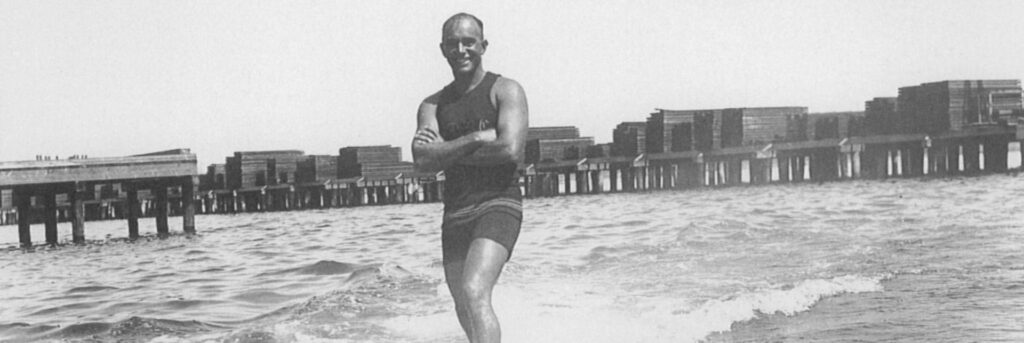 George Freeth father of modern surfing