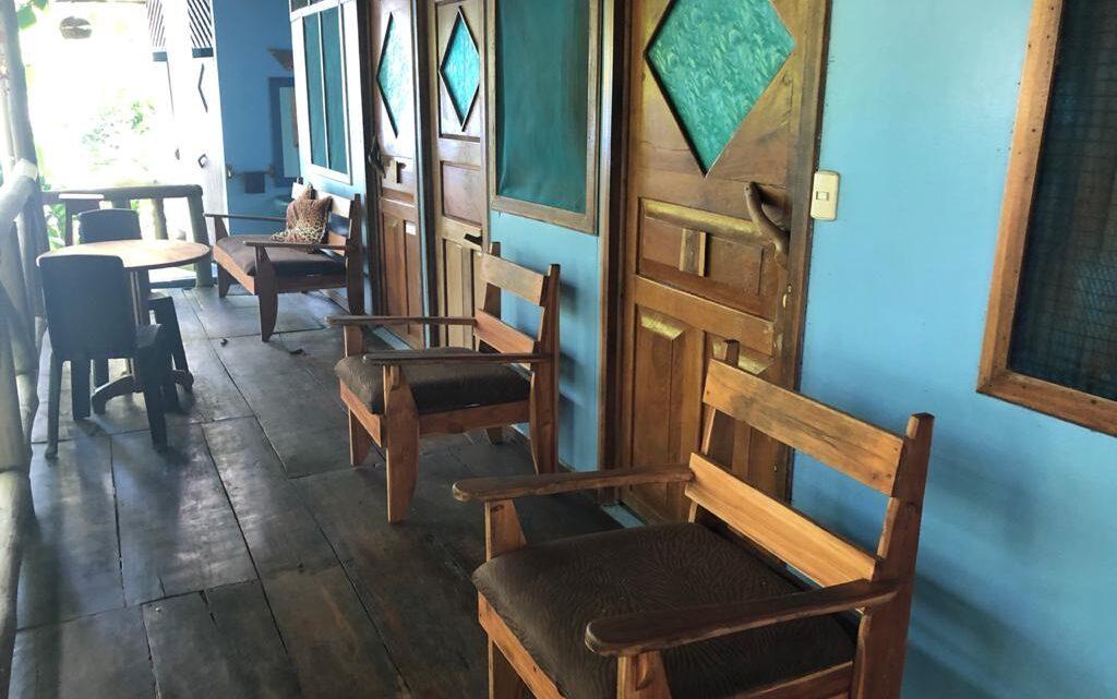 Room's veranda in commercial Costa Rica property for sale