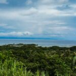 Ocean view land for sale near the sea and surf point in Cabuya Costa Rica