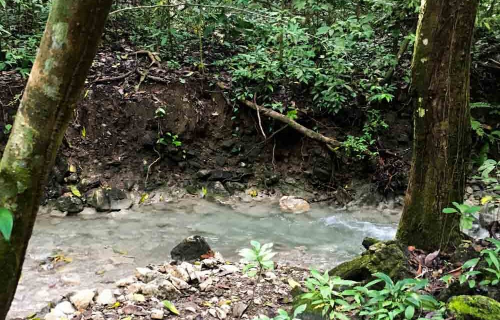 River in ocean view farm for sale in Cabuya Costa Rica