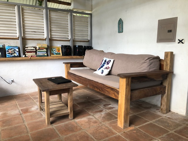 Chill in the sofa in house for sale in Costa Rica