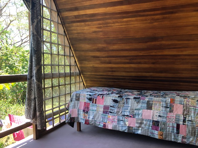 Sofa on veranda in Cabuya Costa Rica Real Estate