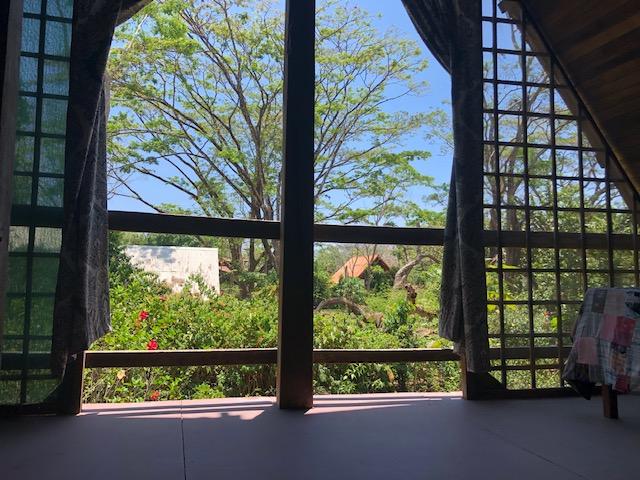 Balcony in Cabuya Costa Rica Real Estate