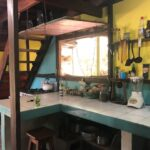 kitchen with window in Cabuya Costa Rica Real Estate