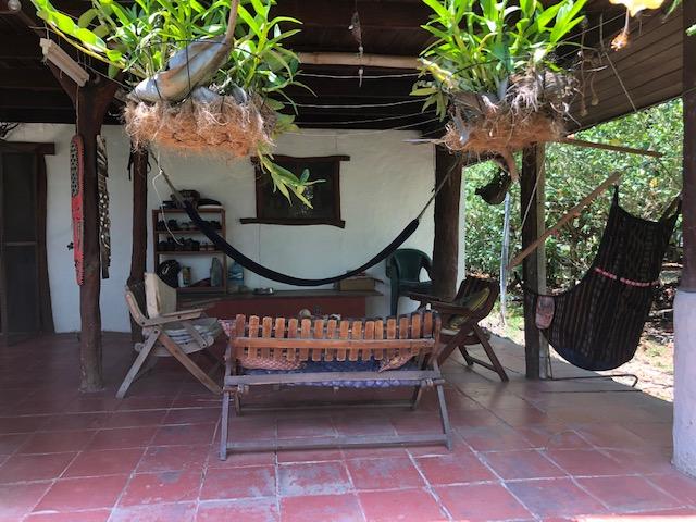 outdoor patio in Cabuya Costa Rica Real Estate