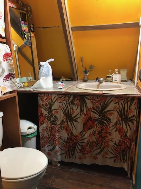 Toilet in Cabuya Costa Rica Real Estate